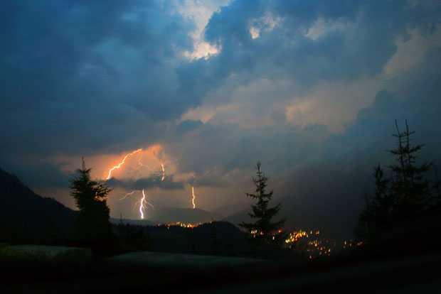 fulgere sinaia cota 1400 furtuna