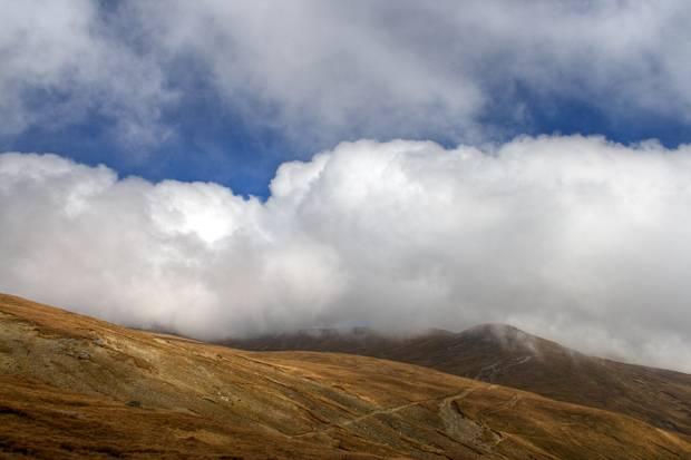 bucegi munte nori