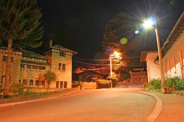 strada sinaia noaptea
