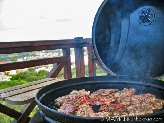 IARNA GREA IN CRETA vol. 3: VUE FROM THE BBQ!