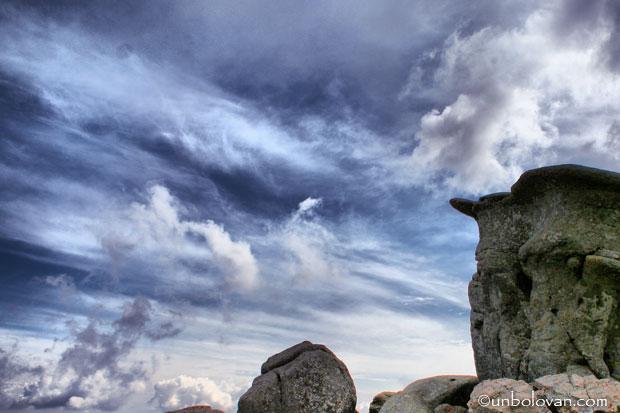 bucegi babele cer nori