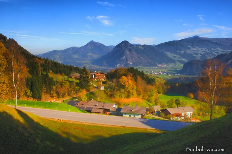 austria alpi toamna munti