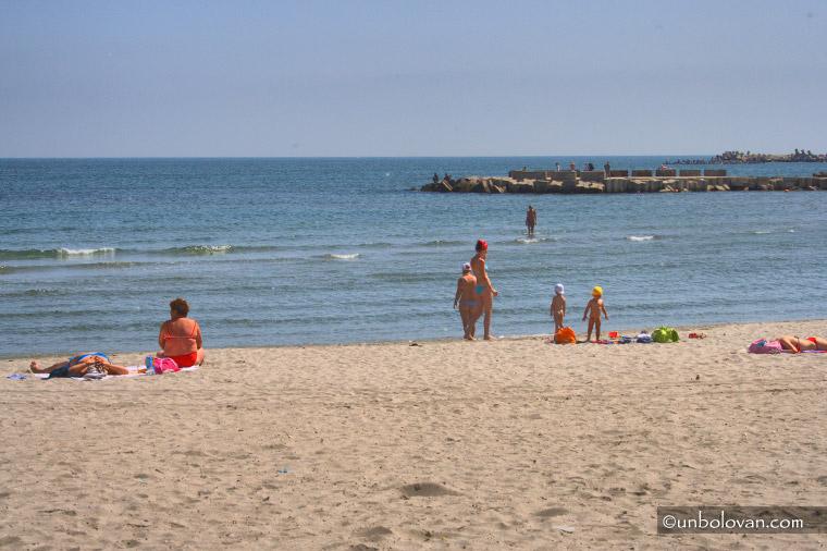 mamaia plaja mare