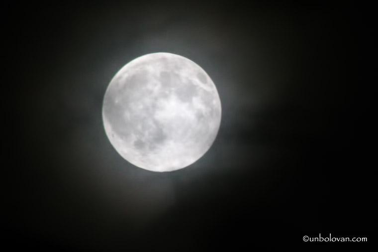noapte luna plina