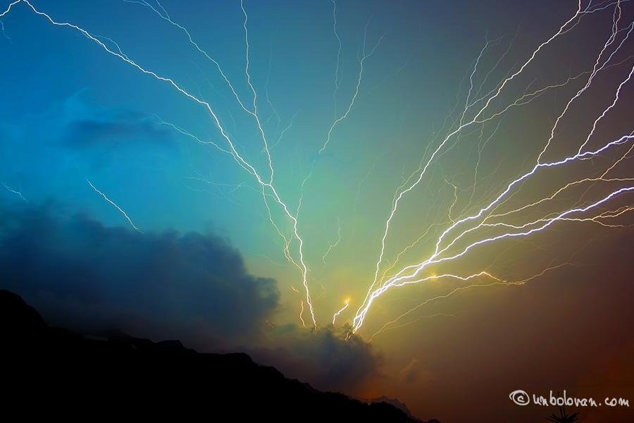 Furtună în Bucegi