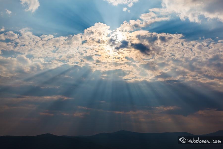 Rânca. Soare, nori, furtună