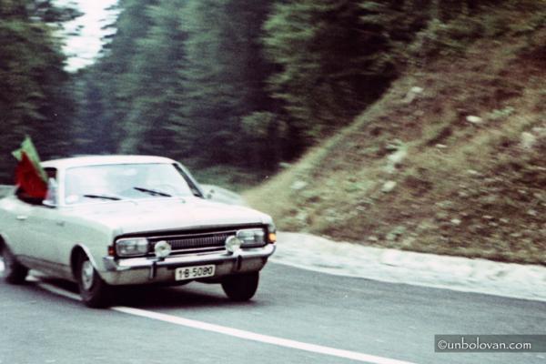 RALIU SINAIA - CURSA DE COASTA 1972