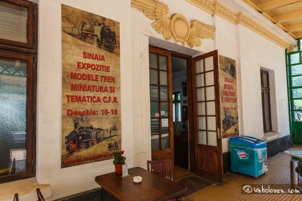 Expoziţia de trenuleţe Sinaia