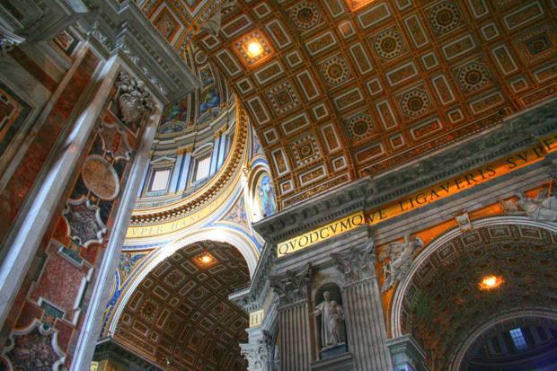roma vatican biserica sfantul petru