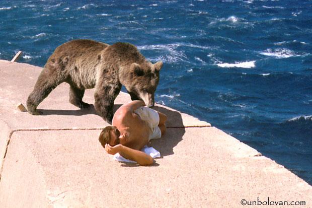 mamulos cu ursul pe dig heraklion creta grecia