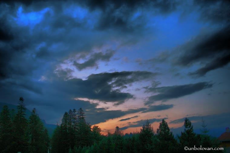 cer asfintit seara sinaia