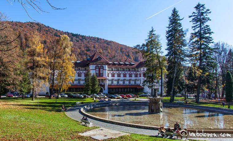Sinaia – Parcul Dimitrie Ghica