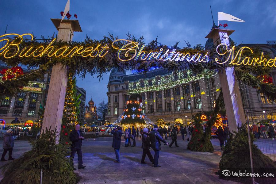 Târgul de Crăciun din Bucureşti