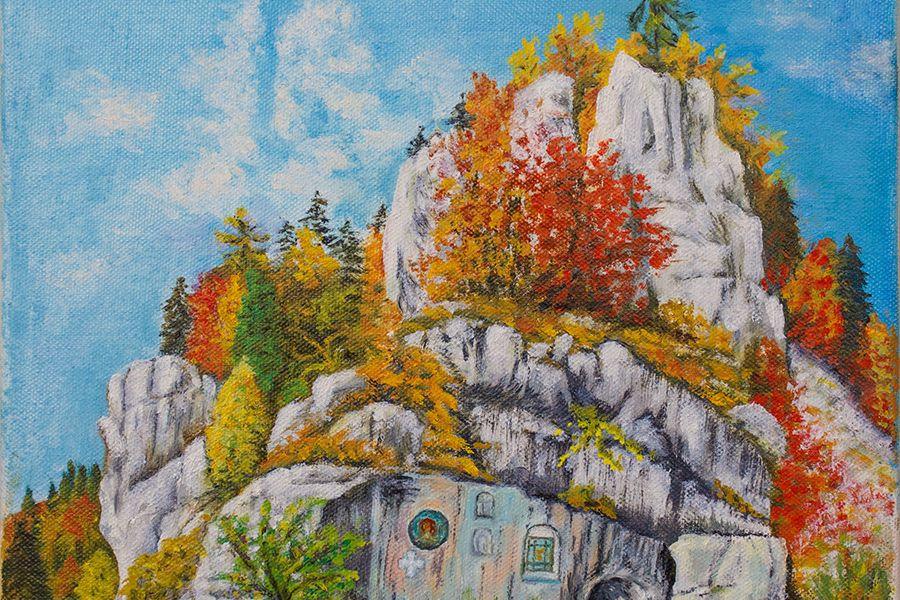 Sfânta Ana. Stâncile, icoanele şi pictura.