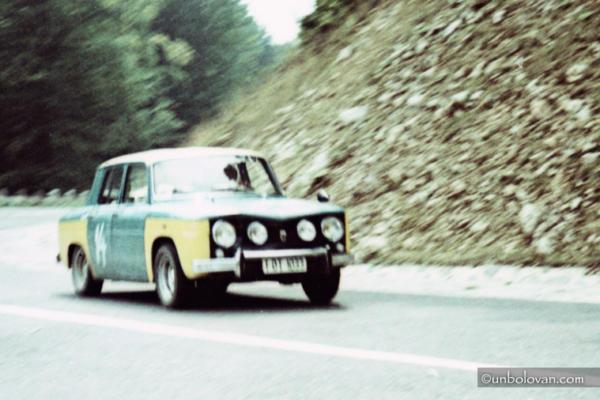 RALIU SINAIA - CURSA DE COASTA anii '70, UPDATE: 1972